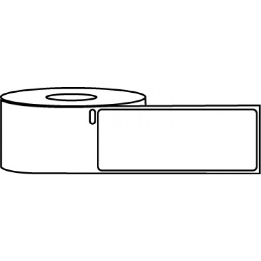 "1.125"" x 3.5"" Thermal Label Roll - DYMO® 30252 Compatible"