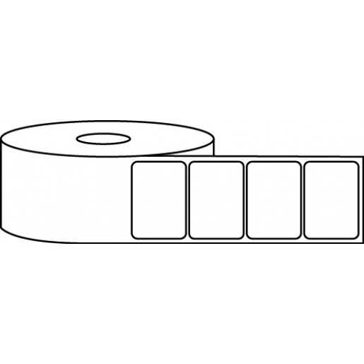 "1.75"" x 1.25"" Thermal Label Roll - 1"" Core / 4"" Outer Diameter"