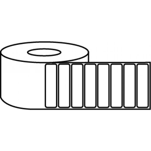 """4"""" x 1"""" Thermal Label Roll - 3"""" Core / 8"""" Outer Diameter"""