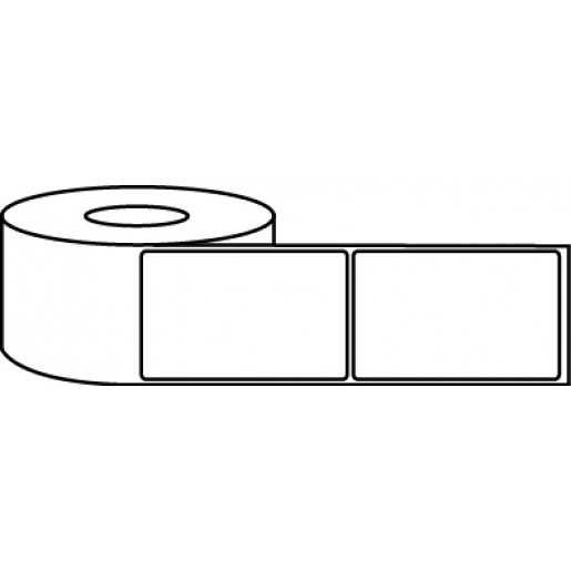 "4"" x 6"" Thermal Label Roll - 3"" Core / 8"" Outer Diameter"