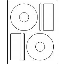 "CD Memorex 4.625"" w/ 1.625"" center"