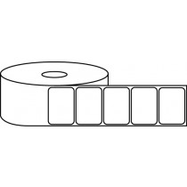 "1.25"" x 1"" Thermal Label Roll - 1"" Core / 4"" Outer Diameter"