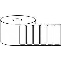 "2.25"" x 0.75"" Thermal Label Roll - 1"" Core / 4"" Outer Diameter"