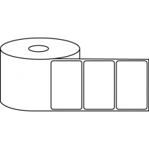 "2.5"" x 1.5"" Thermal Label Roll - 1"" Core / 4"" Outer Diameter"