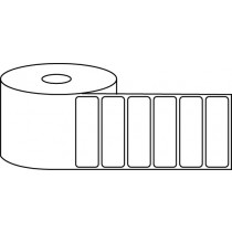 "2.625"" x 1"" Thermal Label Roll - 1"" Core / 4"" Outer Diameter"