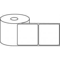 "3"" x 3"" Thermal Label Roll - 1"" Core / 4"" Outer Diameter"