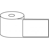 "3"" x 4"" Thermal Label Roll - 1"" Core / 4"" Outer Diameter"
