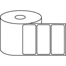 "3.5"" x 1.5"" Thermal Label Roll - 1"" Core / 4"" Outer Diameter"