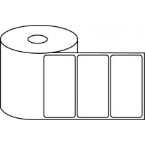 "4"" x 2"" Thermal Label Roll - 1"" Core / 4"" Outer Diameter"