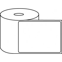 "4"" x 5"" Thermal Label Roll - 1"" Core / 4"" Outer Diameter"