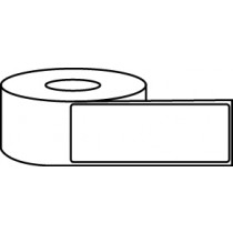 "3.5"" x 8"" Thermal Label Roll - 3"" Core / 8"" Outer Diameter"