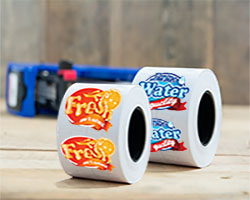 Printed Labels on Rolls